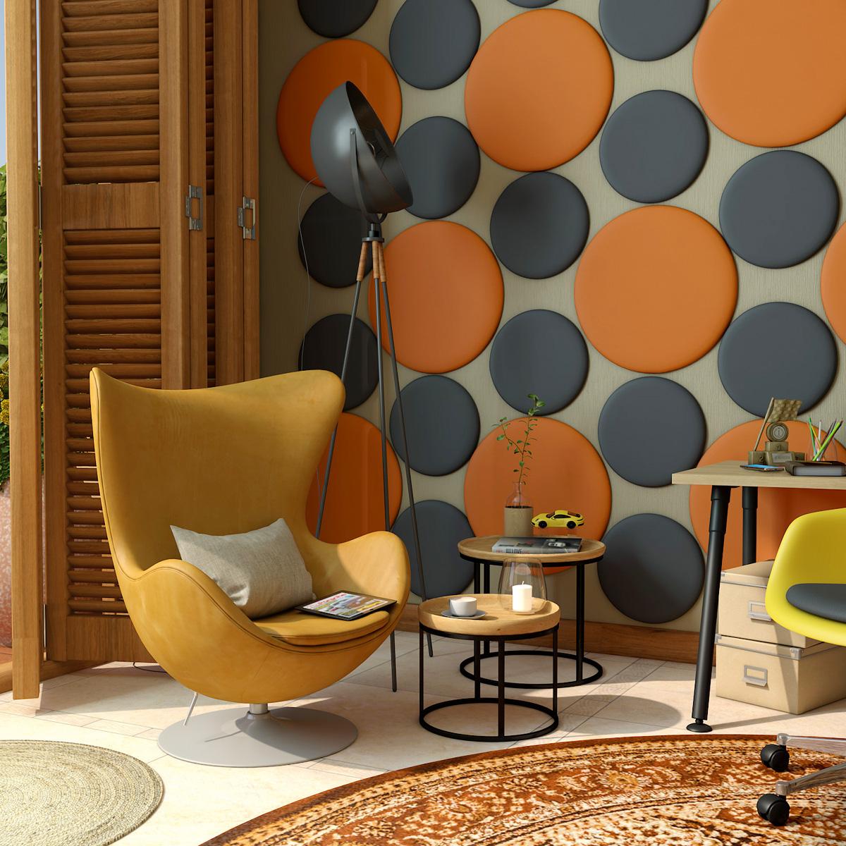 CARRERA™ Circular Acoustic Wall Panels
