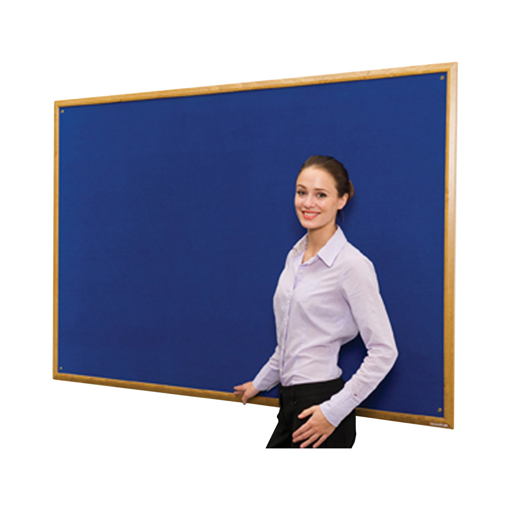 Decorative Fabric Noticeboards With Wood Frame