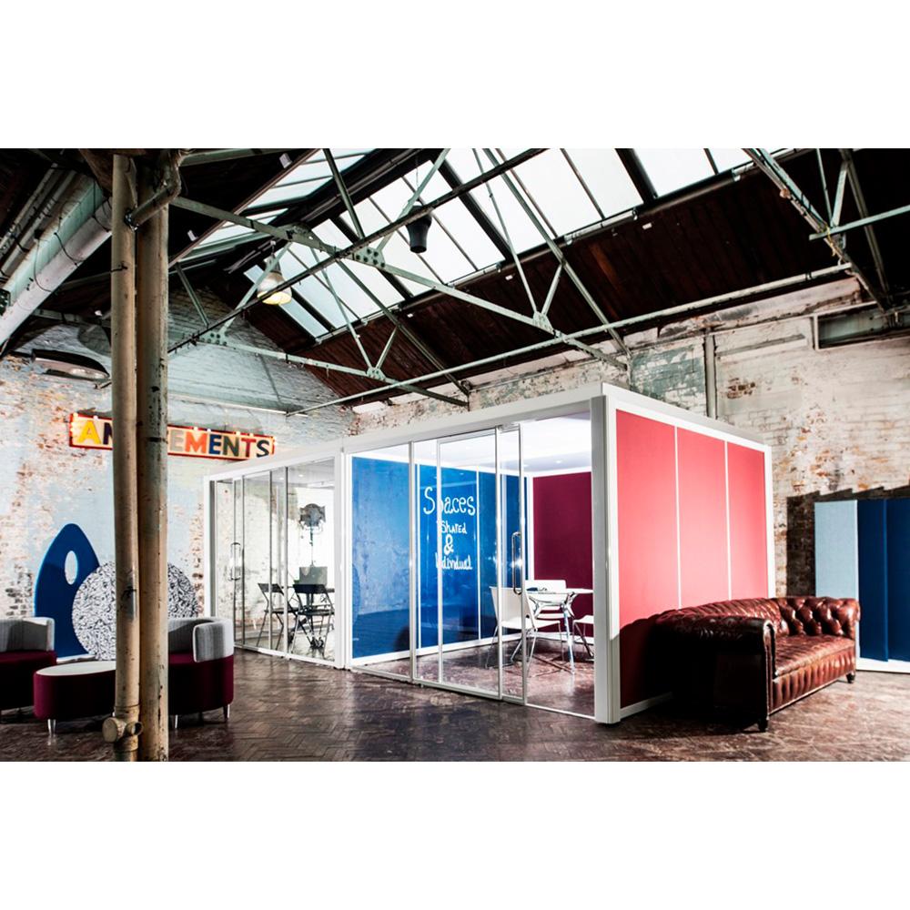 Glass Office Pods 4m X 3m
