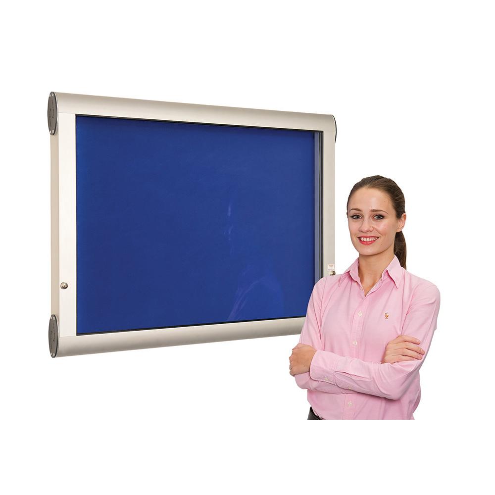 WeatherShield Lockable External Showcase Wall Mounted